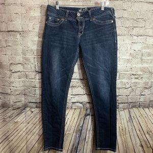 Wallflower jeans bling flap pockets size 13